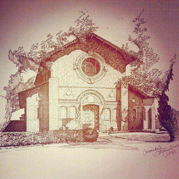 St. John's Episcopal Church, Laurel, MS, by Cassandra Marcellino