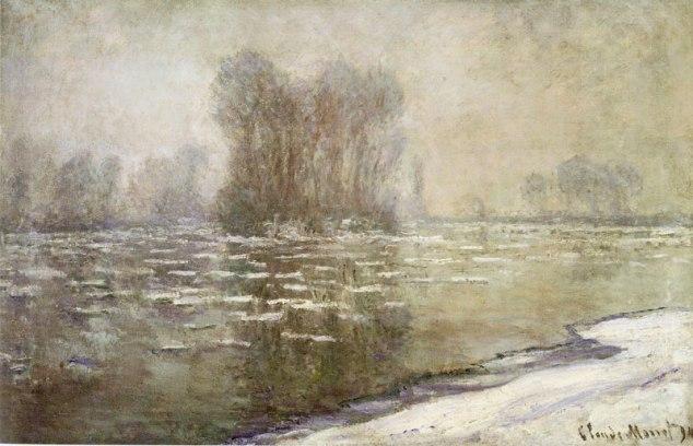 "Claude Monet, ""Morning haze,"" 1894 Philadelphia Museum of Art"